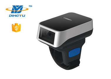 Wireless 2.4G  Bluetooth Barcode Reader , Wearable 2D Reader DI9010 Auto Sense Mode